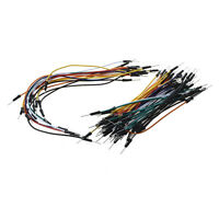 65PCS Male to Male Solderless Breadboard Jumper Cable DT