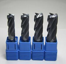 HRC45 4 flutes 14mm 16mm 18mm 20mm carbide end mills set milling cutter CNC tool
