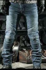 Pantalón vaquero con protecciones para moto