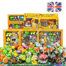 Plants vs. Zombies Kits Toys Peashooter Bucket Zombie Action Figures Kids Gifts