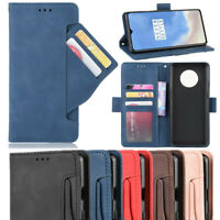 For OnePlus 7T Pro 7 Magnetic Flip Leather Wallet Card Pocket Stand Case Cover
