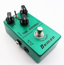 Handmade Tube Screamer TS9 TS808 2 in 1 Overdrive Distortion Guitar Effect pedal