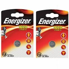2 x Energizer 1620 CR1620 3 V Lithium Coin Cell batterie DL1620 KCR1620 BR 1620 *