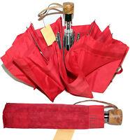 Prima 1 Classe ombrello da borsa rosso Alviero Martini originale GEO