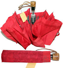 Prima Classe ombrello da borsa rosso Alviero Martini originale