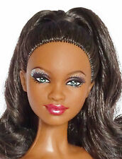 "Barbie Muse Africaine ""Holiday 2007"" nue Doll nude African Black"