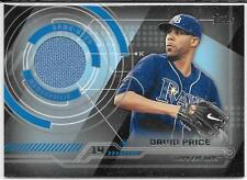 2014 Topps Baseball Series 2 DAVID PRICE(Rays/Tigers) Cert.Relic Card TR-DPR