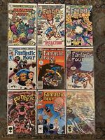 Fantastic Four Marvel Comic Lot 208 250-51 253-55 270 300 Annual 18 VF- To VF/NM