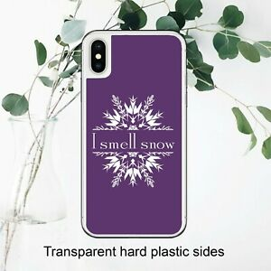 Purple I Smell Snow Gilmore Girls Case Cover for iPhone Samsung Huawei Google