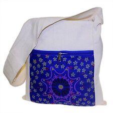 Fair Trade Eco-Ethnic Jute & Alpana Silk Sling Bag 45 x 45cm