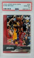 2005-06 Upper Deck ESPN Kobe Bryant #38, HOF, Graded PSA 10, Pop 5 !!!