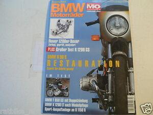 BMW MOTORRÄDER MOTORRAD SONDERHEFT MO NO 10 R90S,R1200 GS,K1200LT,F650 GS