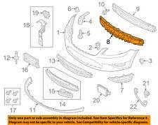 FORD OEM 13-15 Taurus Bumper Face-Foam Impact Absorber Bar DG1Z17C882A
