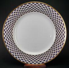 "TIFFANY MANHATTAN BLUE 12 1/4"" Round Platter or Chop Plate"