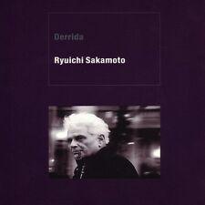 Ryuichi Sakamoto Derrida CD Digipak 2003 Experimental Soundtrack Nine Inch Nails