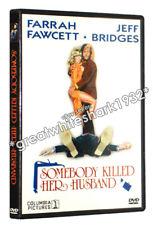 Somebody Killed Her Husband WIDESCREEN DVD (1978) Farrah Fawcett Jeff Bridges