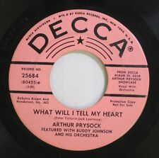 Jazz 45 Arthur Prysock - What Will I Tell My Heart / When Day Is Done On Decca
