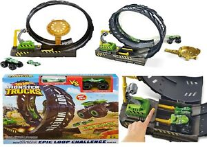 Hot Wheels Monster Truck Epic Loop Challenge Play Set Track Ages 4+ Toy Car Race