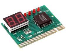 Carte PCI Testeur analyseur diagnostic PC - Analyzer tester checker PCI card