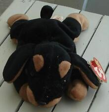 Nice Gently Used TY Beanie Baby Dog, Doby, 1996, EXCELLENT COND