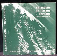 """SIGNED Garreau de Labarre Thionville Bach Buxtehude Grigny 25 cm 10"""" LP & CV NM"""