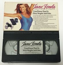 Jane Fonda Health & Fitness - CrossFitness Weights InfoVideo • VHS Workout Tape