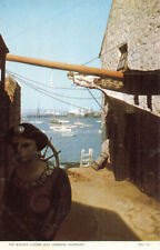 R204192 The Bosuns Locker and Harbour. Falmouth. Jarrold. Cotman Color