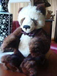 Beautiful Lori Leeper Simon Panda Bear Mink & Rabbit Furbearsake OOAK