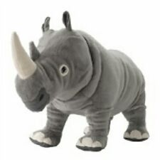 Ikea Plush Rhinoceros Rhino Onskad Stuffed Animal Toy