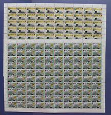 NVPH 1376-1377 COMPLETE VELLEN van 100 Europa Architectuur 1987