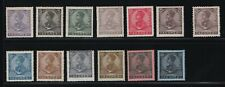 Portugal - 1910 Azores - D. Manuel Ii - Short Set and 1 Perforation Variety - Mh