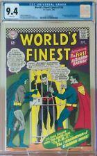 World's Finest Comics #156 CGC 9.4 WP DC Comics 1966 1st Appear Bizarro Batman