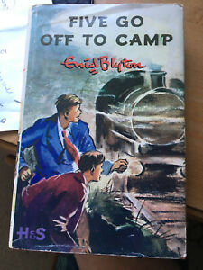 ENID BLYTON FIVE GO OFF TO CAMP