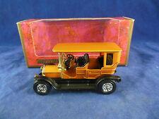 Matchbox Yesteryear Y5-3 1907 Peugeot light gold body Matt Black chassis Issue11