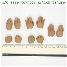 L43-08 1/6 scale yip man Wing chun Kung fu hands*10