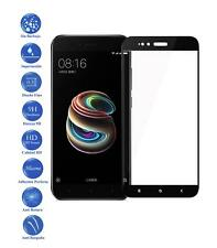 Tempered Glass Screen Full Protector Film for XIAOMI Mi A1 Y 5x Color Black