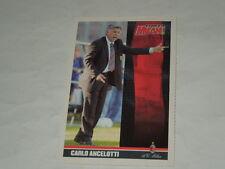 MILAN CALCIO-CARTOLINA FORZA MILAN 2003/2004 ALLENATORE CARLO ANCLOTTI CM. 10X15