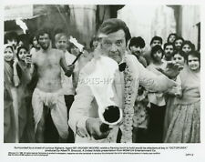 ROGER MOORE OCTOPUSSY JAMES BOND 007 1983 VINTAGE PHOTO ORIGINAL #5