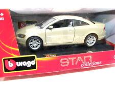 Bburago VOLVO C70 COUPE GOLD 1/24 DIECAST MODEL CAR