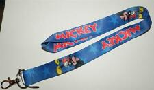 MOBILE PHONE/IDENTITY CARD LANYARD NECK STRAP BLUE MICKEY MOUSE