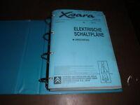 Manuale D'Officina Elettrica Citroen Xsara 1997/1998