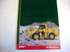 Kawasaki 115 Zv Wheel Loader Literature