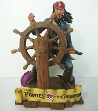 Pirates of the Caribbean Jack Sparrow Statue Figurine Disney Bookend