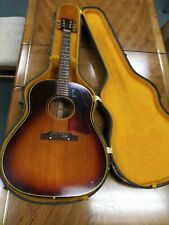 Gibson Acoustic Guitar Late 60s J-45 Adj with case /6 digit serial num. 90*
