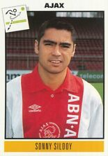 038 SONNY SILOOY # NETHERLANDS AJAX STICKER VOETBAL 1993-1994 PANINI
