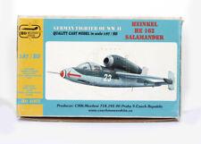 CMK A002 RESIN KIT HO H0 1/87 German He 162 Salamander , NEW NUE NUEUE