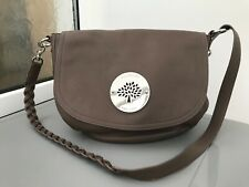 Mulberry Daria Satchel Crossbody/Shoulder Bag Taupe Near Perfect +Authentication