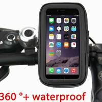 Bicycle Motor Bike 360° Waterproof Phone  Mount Holder For All Mobile Phones