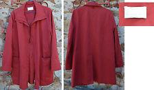Veste 3/4 rouge, Buretti, taille 38, 62% coton, parfait état