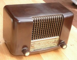 Röhrenradio Philips Philetta 234 L; 50er Jahre Design; geprüft, funktionsfähig
